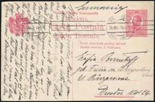 Románia 1914