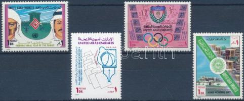 1994 Évfordulók és rendezvények sor Mi 445-448
