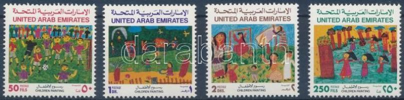 1992 Gyermekrajz sor Mi 379-382