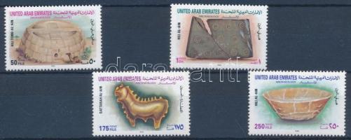 1993 A Hili, Al-Ain régészeti leletei sor Mi 429-432