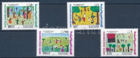 1994 Gyermek rajzok sor Mi 437-440