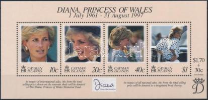 1998 Diana hercegnő blokk Mi 27