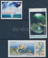 Europa CEPT 3 stamps, Europa CEPT 3 klf önálló érték