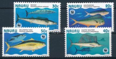WWF Fishes set + 4 FDC WWF: Hal sor + 4 db FDC-n