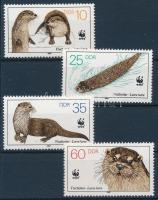 WWF Otter set + 4 FDC WWF: Vidra sor + 4 db FDC-n