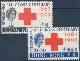 Centenary of Red Cross set 100 éves a Nemzetközi Vöröskereszt sor