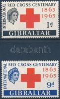 Centenary of Red Cross set, 100 éves a Nemzetközi Vöröskereszt sor