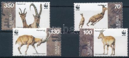 1965 WWF: Vadkecske sor Mi 298-301 +4 db FDC-n