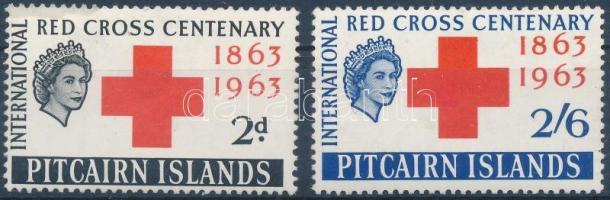 Centenary of National Red Cross set, 100 éves a Nemzeti Vöröskereszt sor