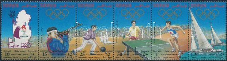 Summer Olympics stripe of 6, Nyári olimpia hatoscsík