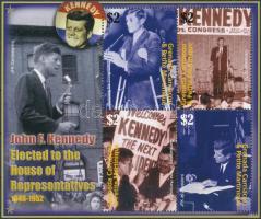 Kennedy minisheet Kennedy kisív