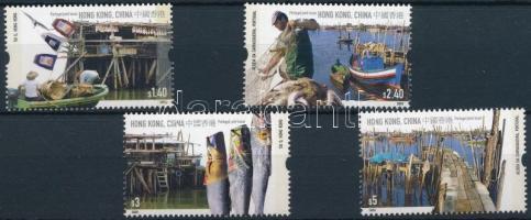 2005 Halászat sor Mi 1314-1317