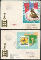 1981-1982 2 diff FDCs 1981-1982 2 klf FDC