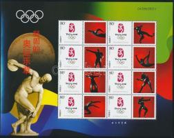 Olympics minisheet Olimpia kisív
