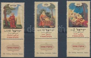 Jewish holidays set with tabs, Zsidó ünnepek tabos sor