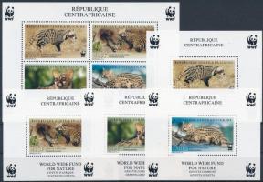 WWF Wild cats block set, WWF: Vadmacska félék blokksor