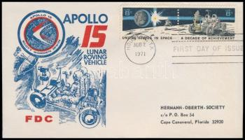 Apollo 15 FDC Apollo 15 FDC