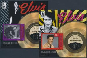 Elvis Presley blockset, 4 blocks, Elvis Presley blokksor, 4 klf blokk