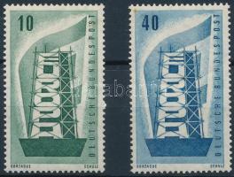 1956 Europa CEPT sor Mi 241-242