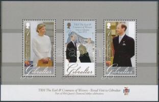 Count Edward and Countess Sophie's Visit block, Edward gróf és Sophie grófnő látogatása blokk