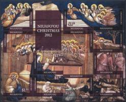 Christmas mini sheet Karácsony kisív