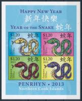 Chinese New Year: Year of the Snake block, Kínai Újév: Kígyó éve blokk