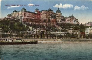 Budapest I. Királyi vár (szakadás / tear)