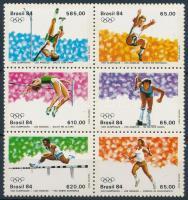 Nyári Olimpia, Los Angeles sor 6-os tömbben, Summer Olympics, Los Angeles set block of 6