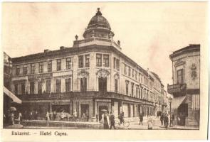 Bucharest, Bukarest; Hotel Capsa (cut)