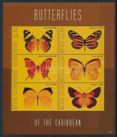 Butterfly minisheet, Lepke kisív