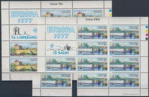 1977 Europa CEPT, Tájak 10 sor Mi 554-555