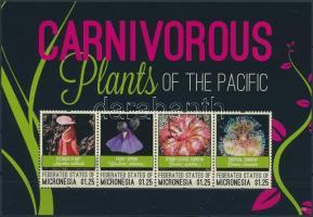 Carnivorous plants mini sheet, Húsevő növények kisív