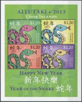 Chinese New Year: Year of Snake block, Kínai Újév: Kígyó éve blokk