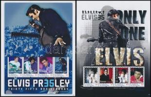 Elvis Presley minisheet set, Elvis Presley kisívsor