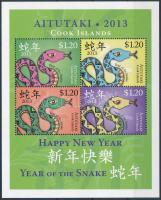 Kínai Újév: Kígyó éve blokk, Chinese New Year: Year of the Snake block