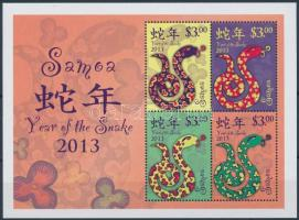 Chinese New Year, Year of the snake block Kínai Újév: Kígyó éve blokk