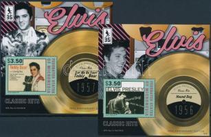 2012 Elvis Presley blokksor Mi 218-222