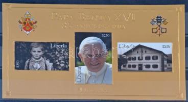 XVI. Benedek pápa blokk, Pope Benedict XVI. block