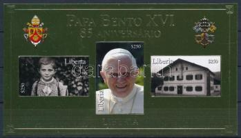 Pope Benedict XVI  block, XVI. Benedek pápa blokk