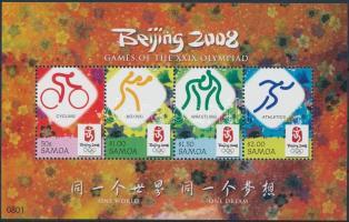 2008 Nyári olimpia blokk Mi 78