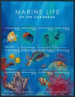 Sea life minisheet, Tengeri állatok kisív
