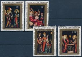 Painting, Christmas set, Festmény, karácsony sor