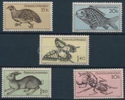 1955 Állatok sor Mi 925-929