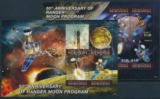 Space Travel mini sheet set, Űrutazás kisívsor