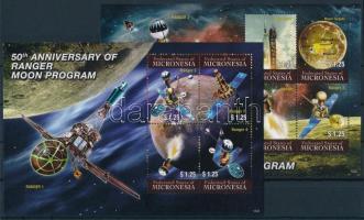 2012 Űrutazás kisívsor Mi 2369-2376
