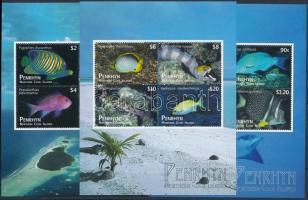 Fish block set Halak blokksor