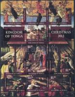 Karácsony kisív, Christmas mini sheet