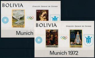 1972 Nyári Olimpia, München blokk sor Mi 34-35