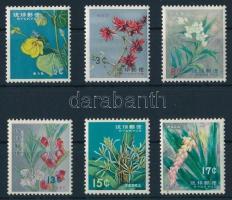 1962 Virág sor Mi 125-130