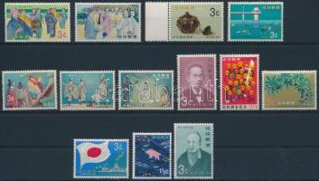 13 diff stamps, 13 klf bélyeg